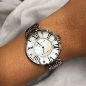 PURPLE ANNE KLEIN WATCH